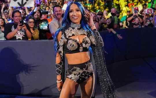 Sasha Banks en WWE