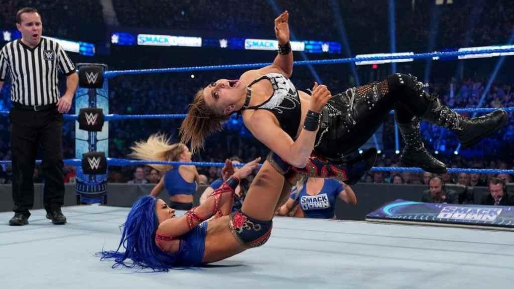 Sasha vs Rhea