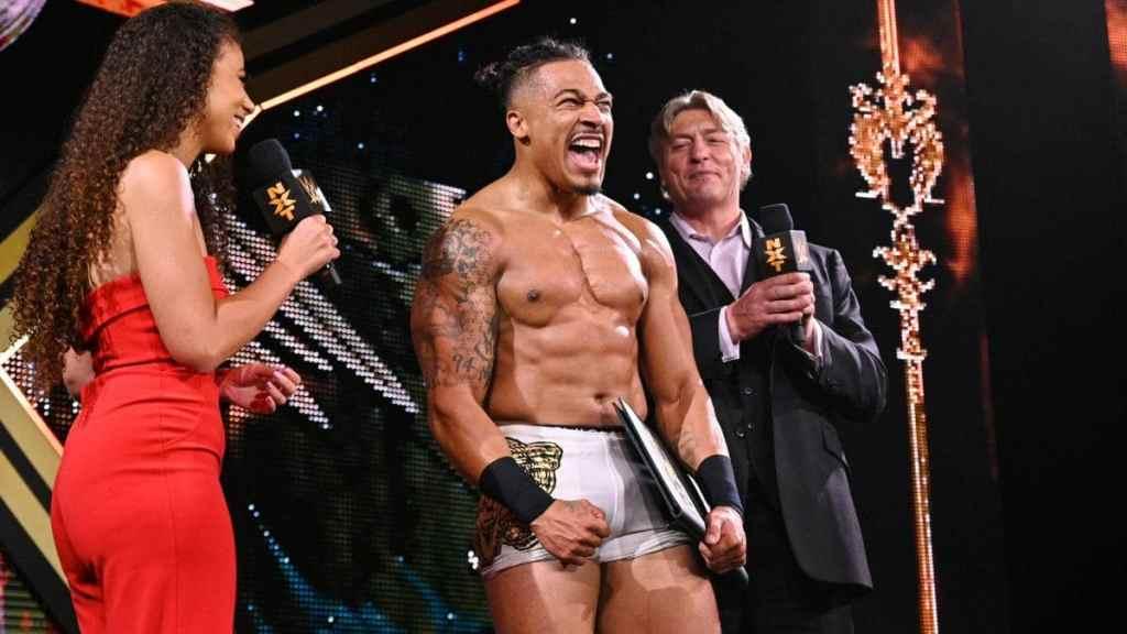 Hayes en NXT