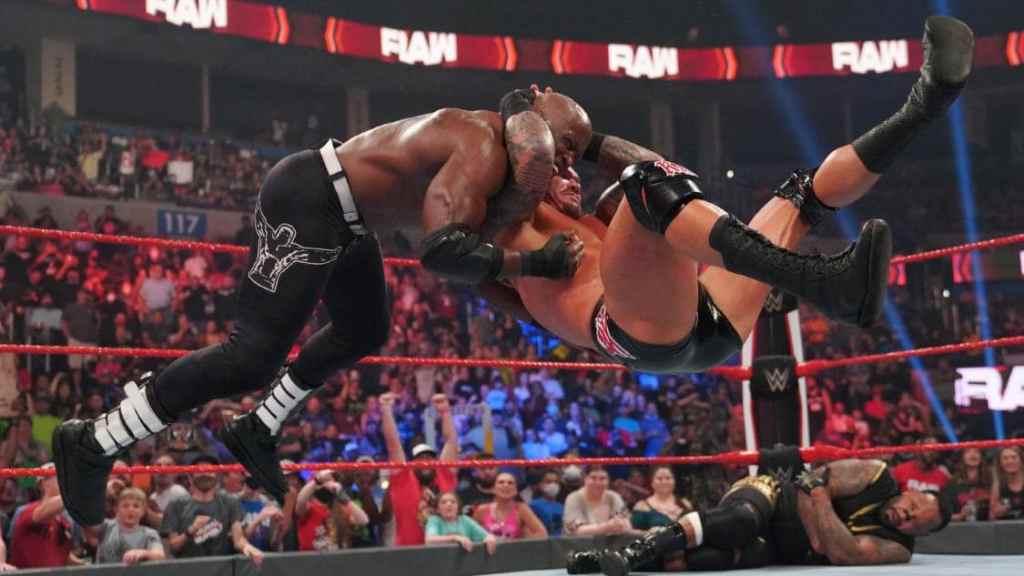 Orton RKO Lashley