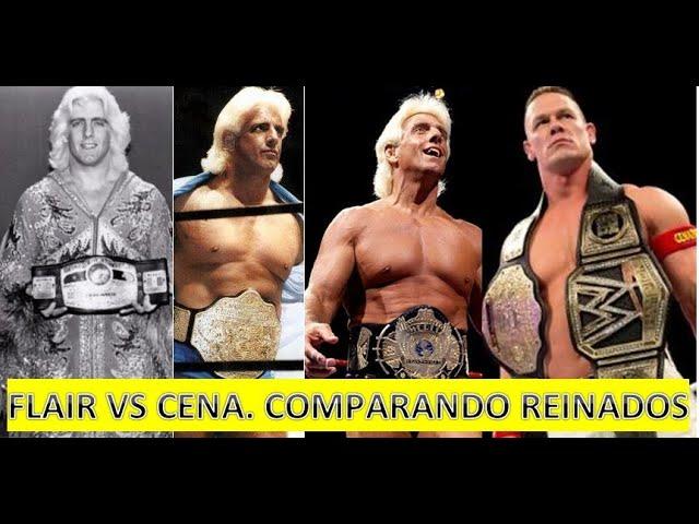 The Fabulous Jobbers: Cena vs Flair