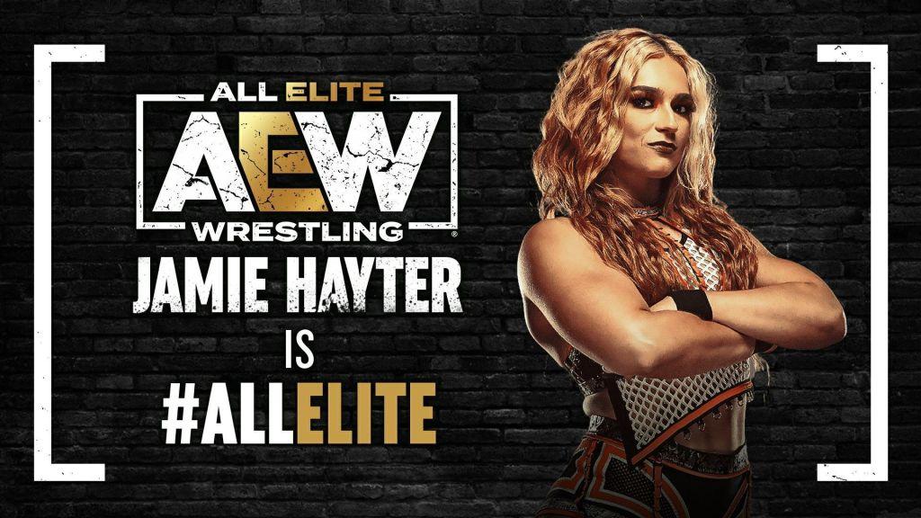 Jamie Hayter is All Elite
