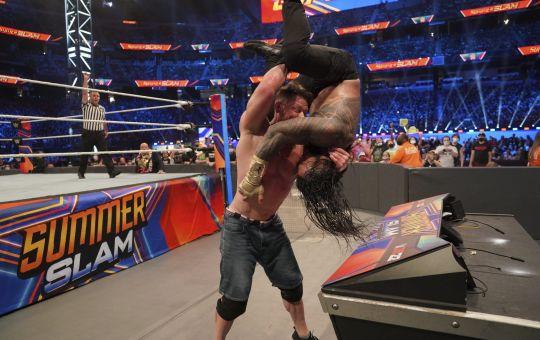 Cena vs Roman summerSlam 2021