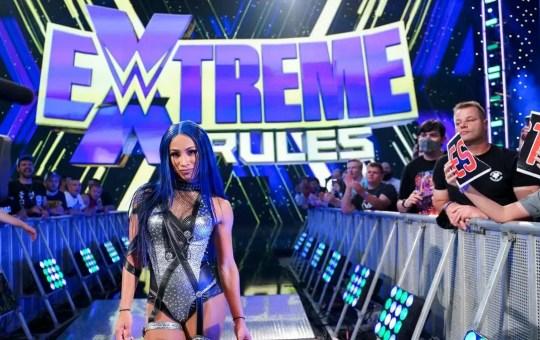 Sasha Banks en Extreme Rules