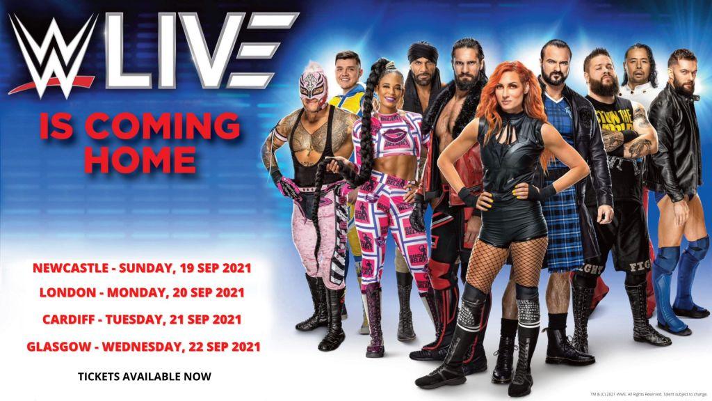 Reino unido WWE