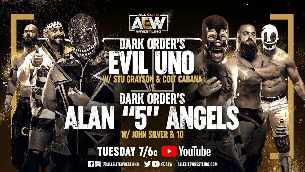 Evil Uno vs Alan Angels