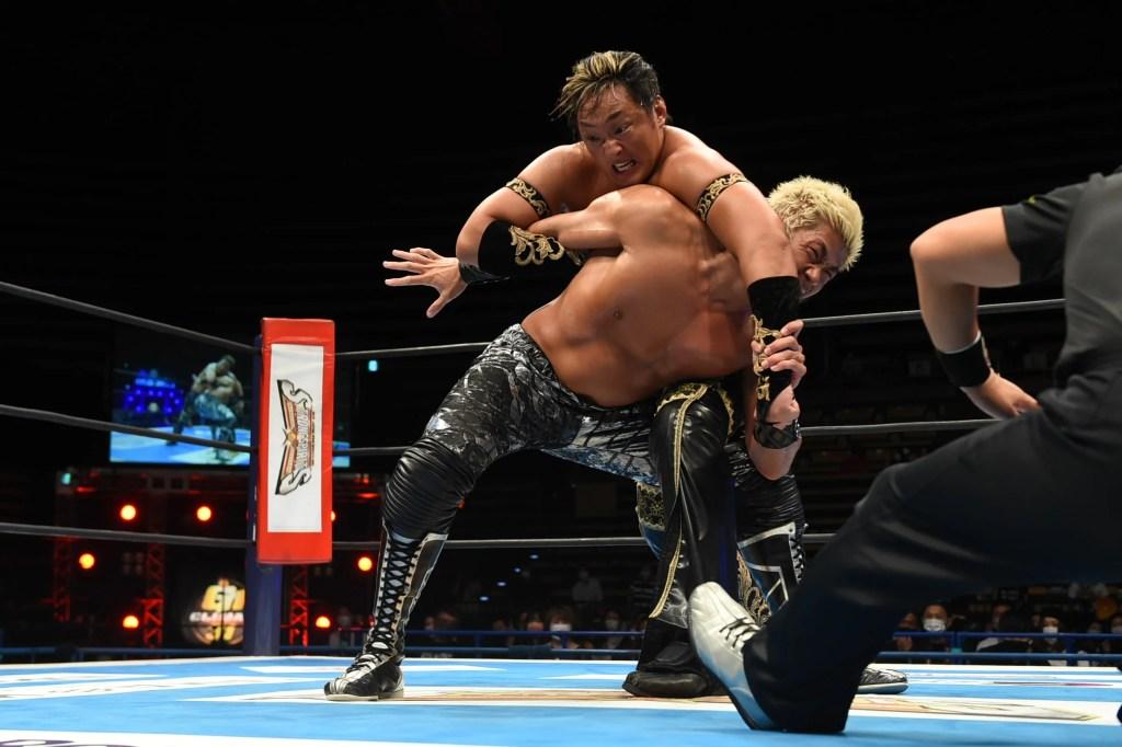 Taichi vs Sanada