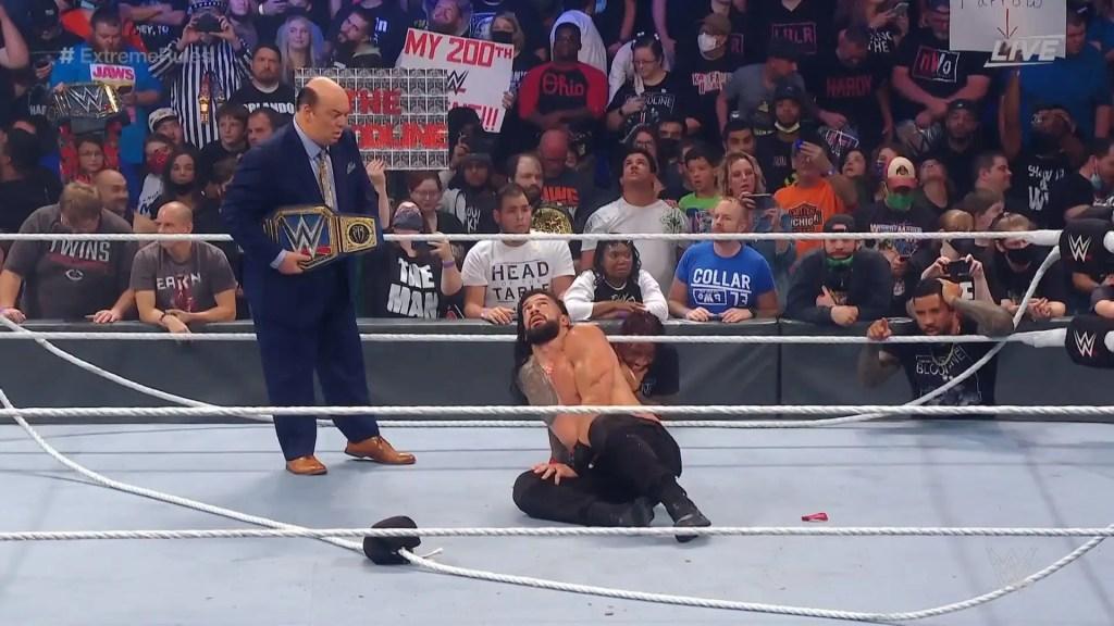 Roman Reigns en Extreme Rules