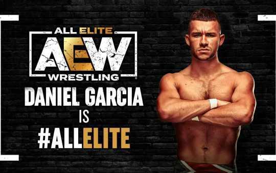 AEW contrata a Daniel García