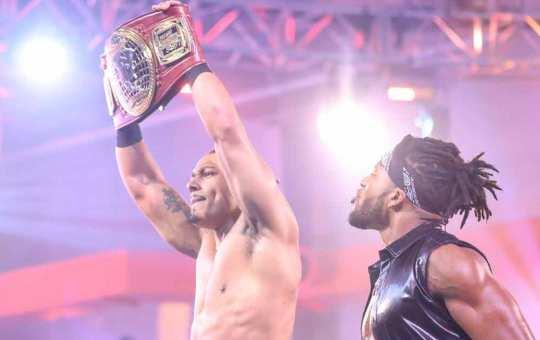 Carmelo Hayes gana el NXT North American Championship