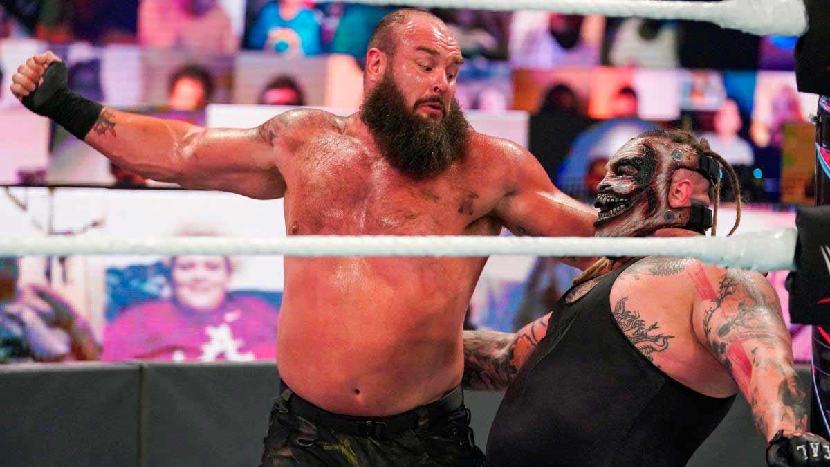 Braun Strowman y Bray Wyatt