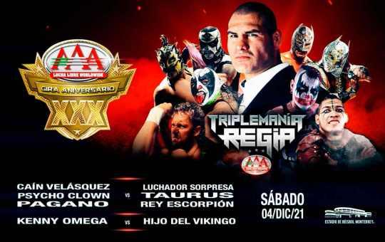 Lucha Libre AAA anuncia Triplemanía Regia II