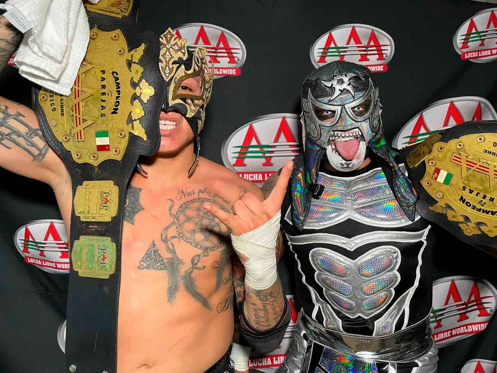 Lucha Libre AAA tiene un nuevo combate de cinco estrellas