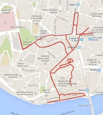 mapa oporto 2