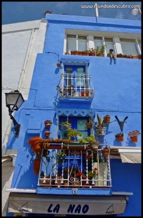 balcones azules