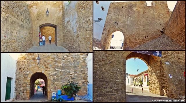 Collage puertas medievales