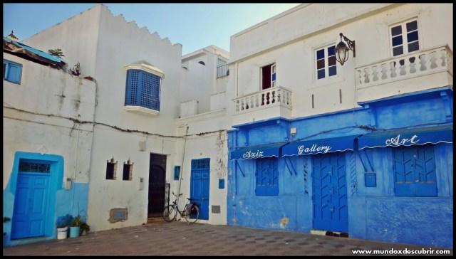 calle azul Asilah