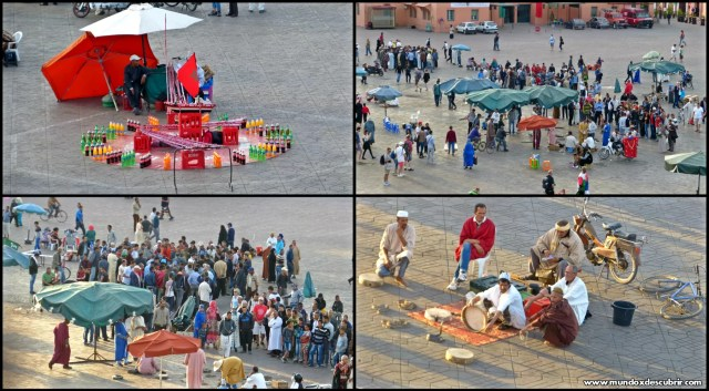 Plaza Jemaa el Fna Marrakech - Marruecos