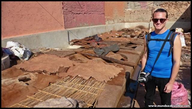Curtidurías de Marrakech