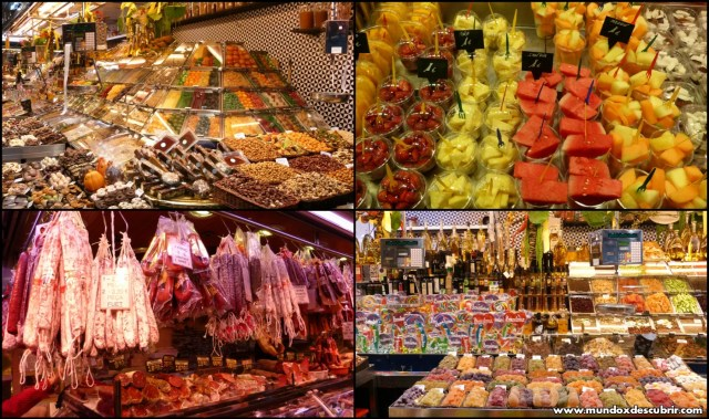 boqueria collage
