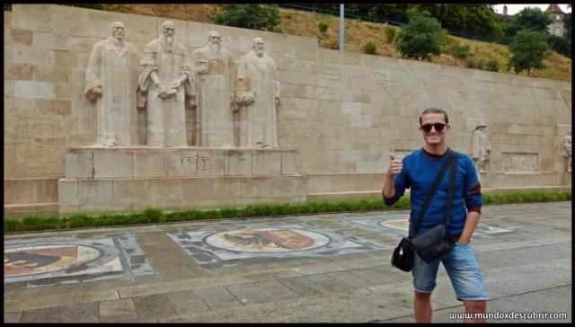 Muro de los reformadores - Ginebra - Suiza