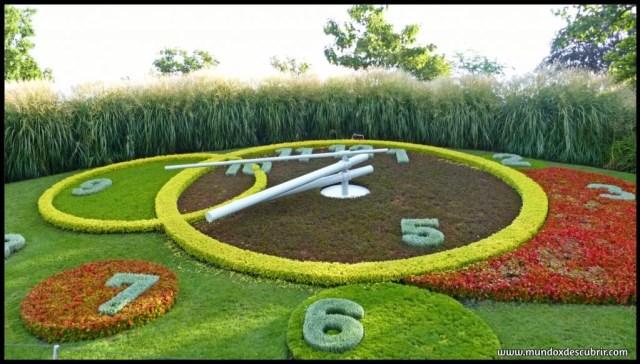 Reloj de flores Ginebra