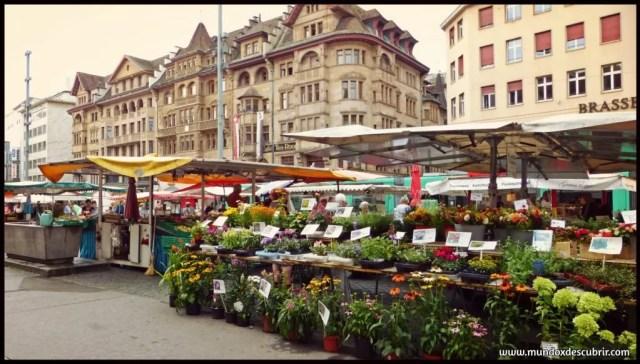Markplatz o Plaza del Mercado
