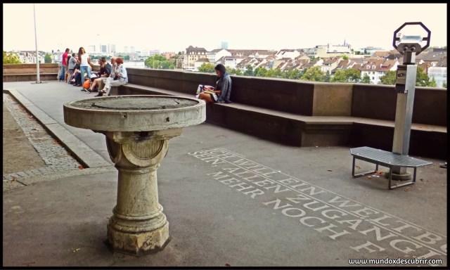 El Pfalz o terraza del Rin
