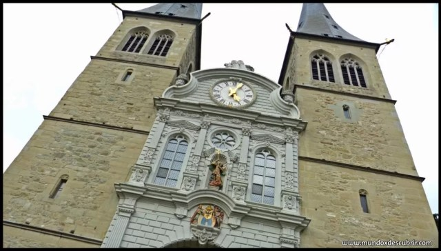 Hofkirche Sankt Leodegar o Iglesia de St. Leodegar