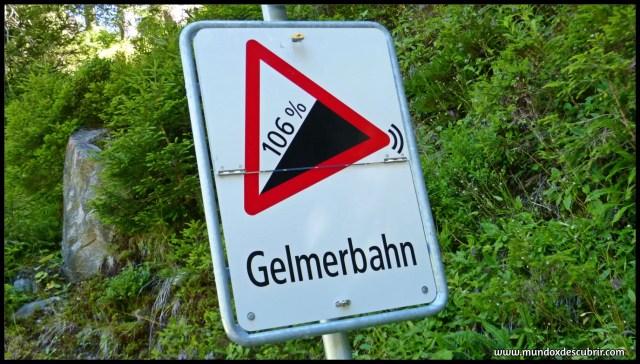 Funicular Gelmerbahn