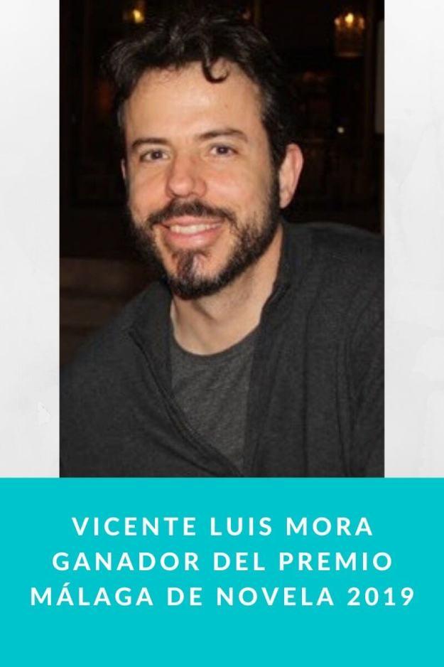 Vicente Luis Mora ganador del Premio Málaga de Novela 2019