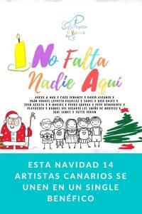 Esta navidad 14 artistas canarios se unen en un single benéfico