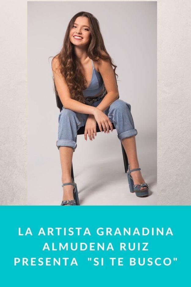 La artista granadina Almudena Ruiz presenta  «Si Te Busco»