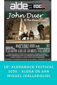 18º ALDEAROCK FESTIVAL 2020 - Aldea de San Miguel (Valladolid)