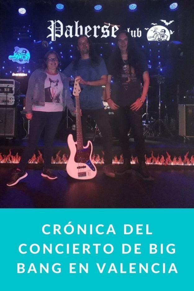 Crónica del Concierto de Big Bang en Valencia