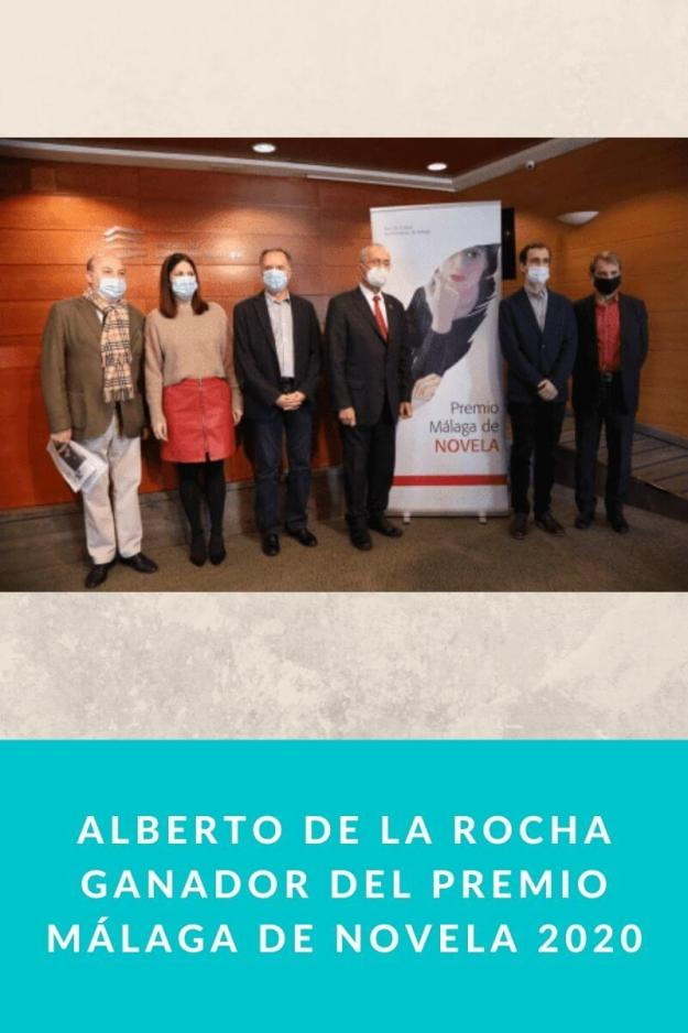 Alberto de la Rocha ganador del Premio Málaga de Novela 2020