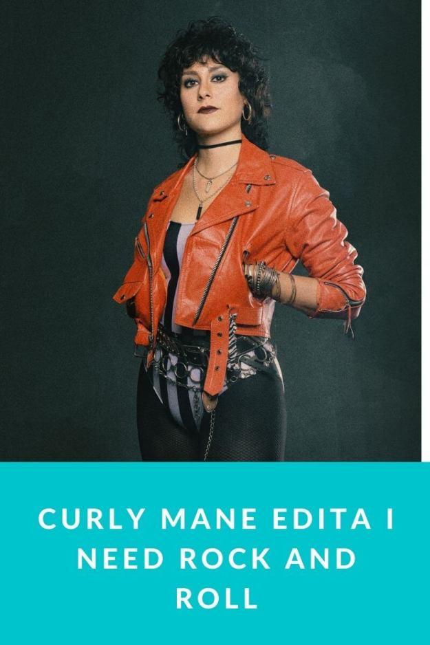 Curly Mane edita I need Rock and Roll