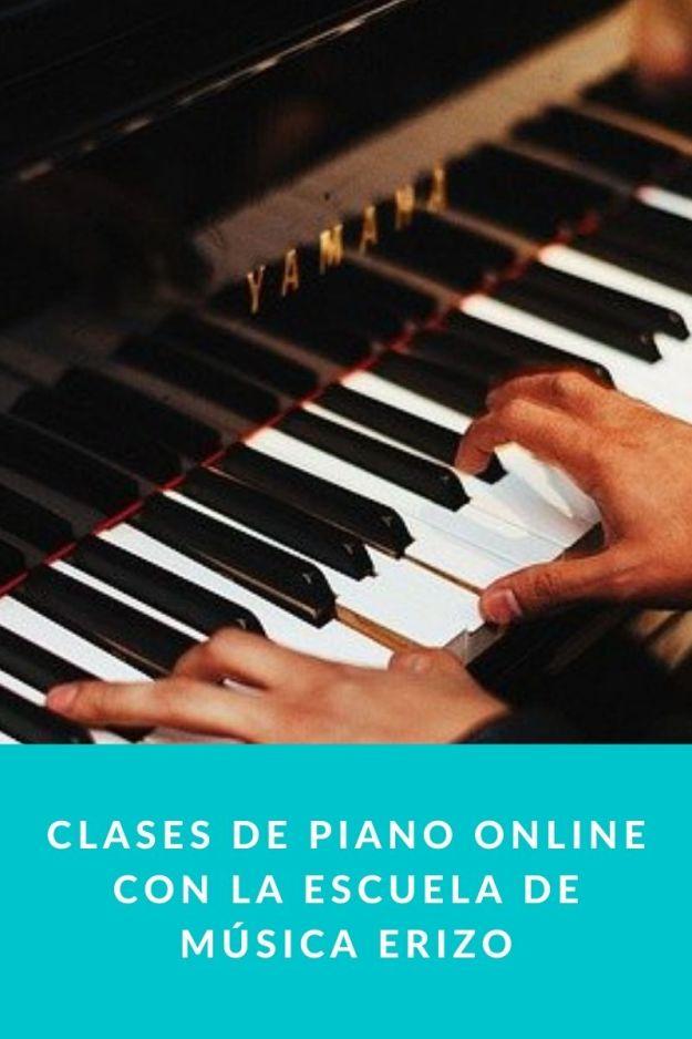 Clases de piano online con la Escuela de Música Erizo