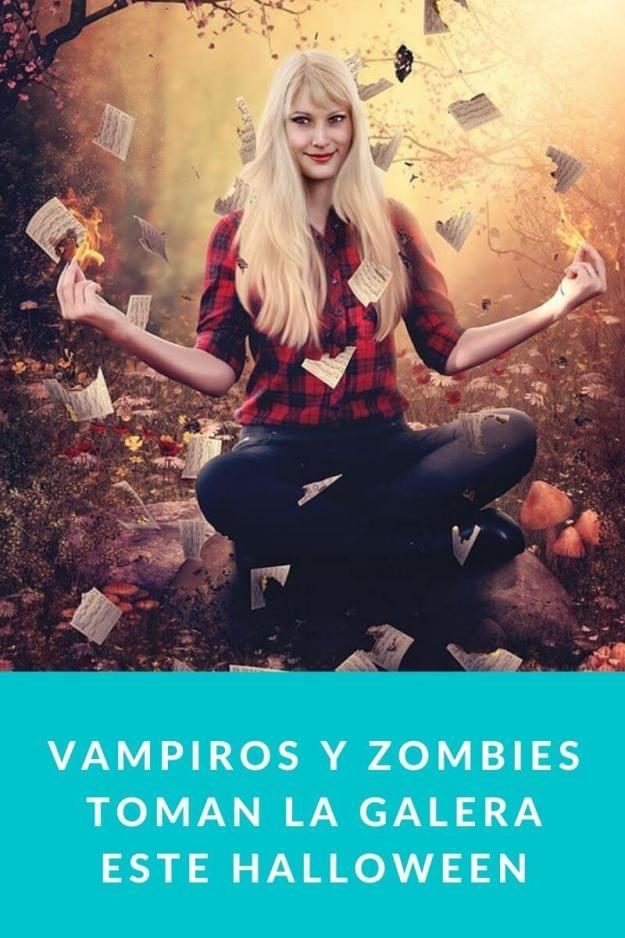 Vampiros y zombies toman La Galera este Halloween