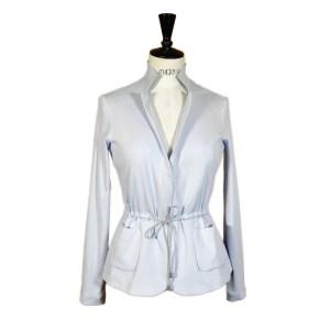 Fabiana Filippi Damen Jacke Hellblau Luxus