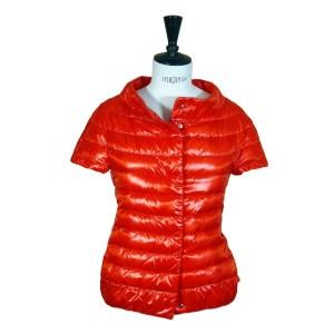 Herno Damen Steppweste Orange Luxus