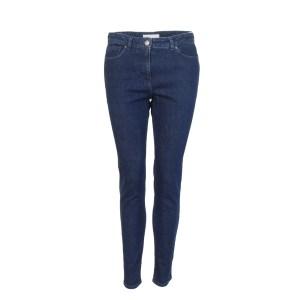 Fabiana Filippi Damen Jeans 7/8-Länge hohe Leibhöhe Luxus Blau