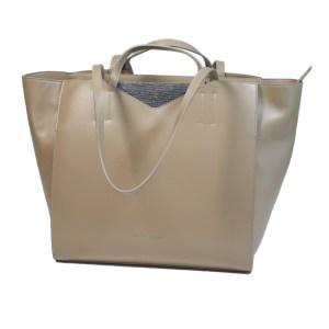 Fabiana Filippi Damen Tasche Taupe Leder Luxus