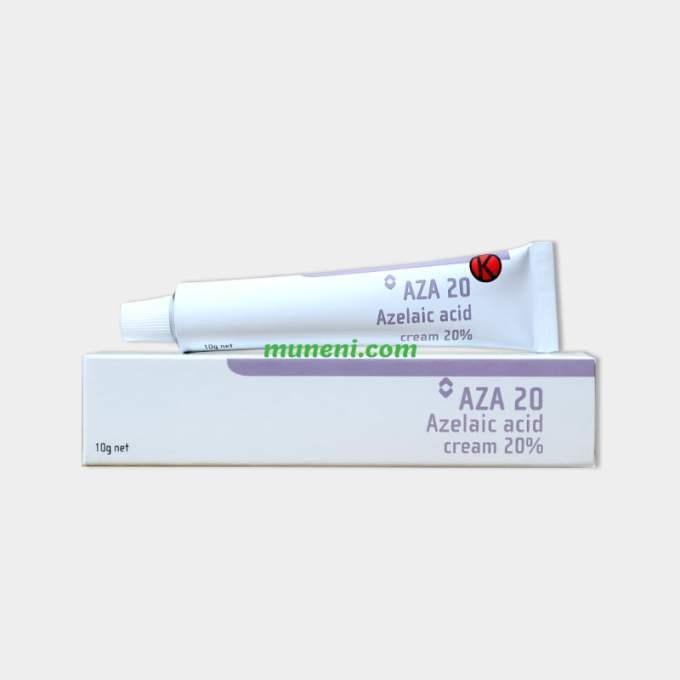 Aza 20 Azelaic acid cream 20% Muneni Store