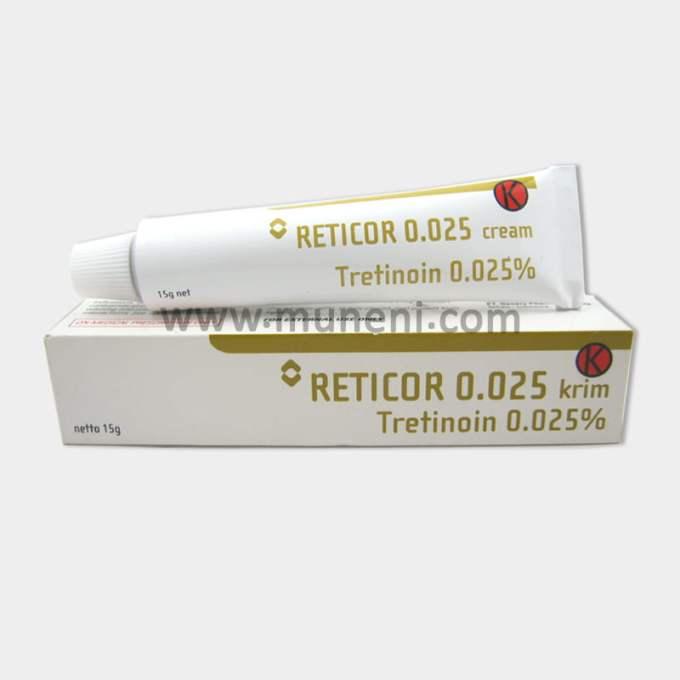 Reticor 0.025 Tretinoin Cream 0.025% Muneni Store