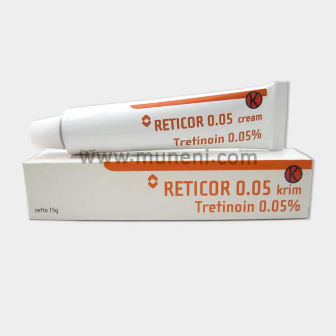 Reticor 0.05 Tretinoin Cream 0.05% Muneni Store