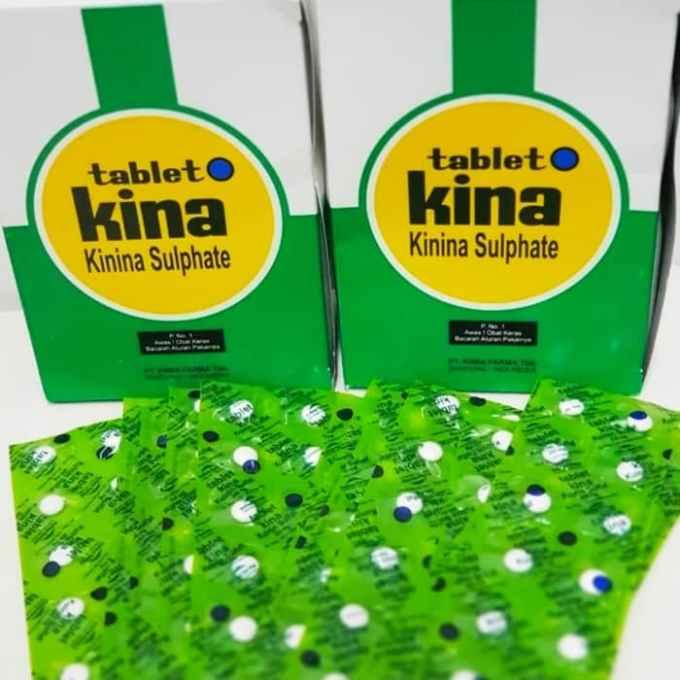 tablet kina kinina sulphate 1