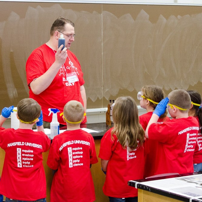 Elementary School Students Get IDEAS at MU