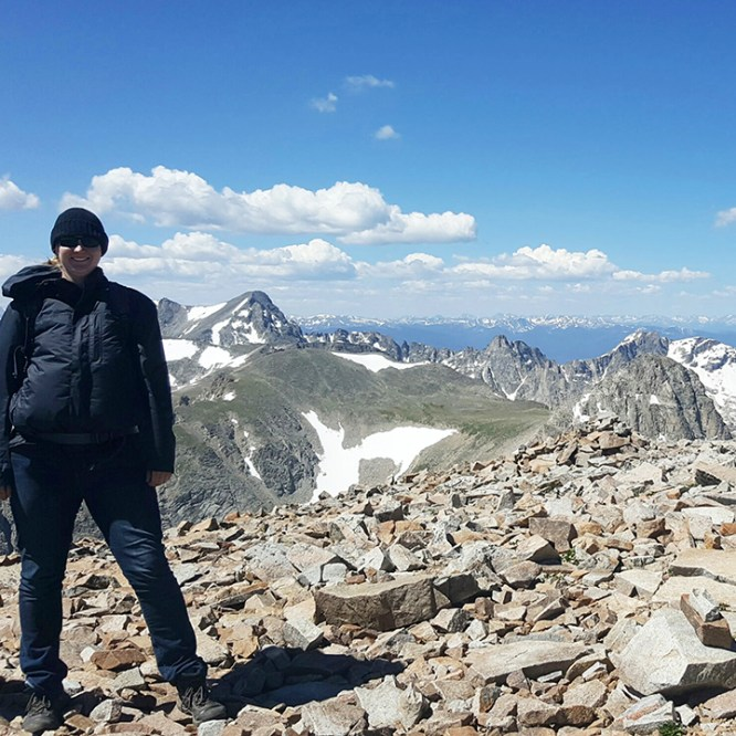 Geosciences Major Reaches New Heights Through Summer Experience