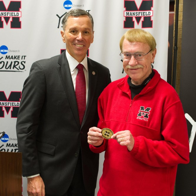 Chris Vaughn Awarded the Presidential Coin for Excellence
